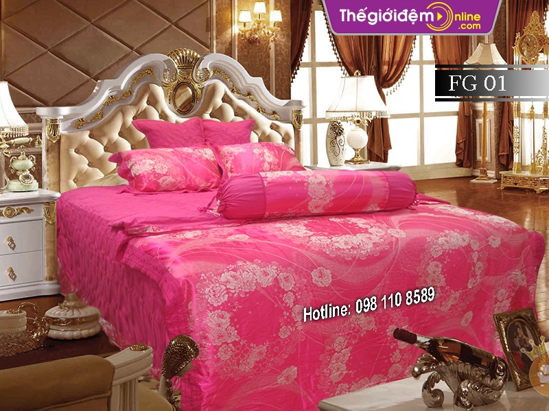 Bộ chăn ga gối Singapore Home Collection FG 01