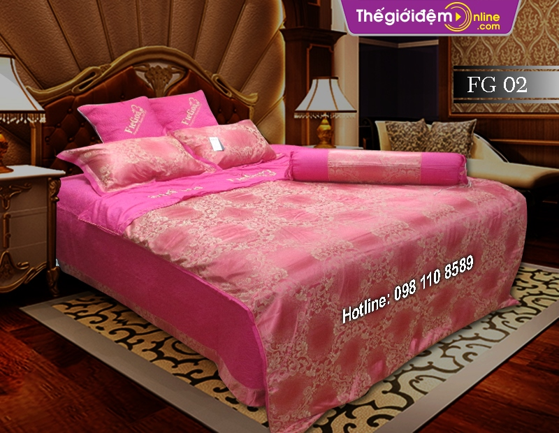 Bộ chăn ga gối Singapore Home Collection FG 02