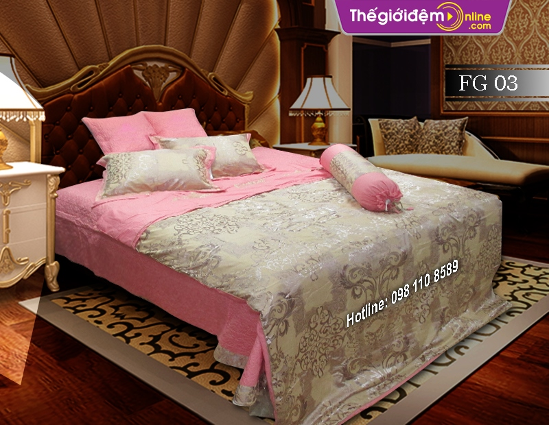 Bộ chăn ga gối Singapore Home Collection FG 03
