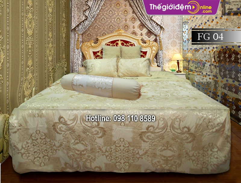 Bộ chăn ga gối Singapore Home Collection FG 04