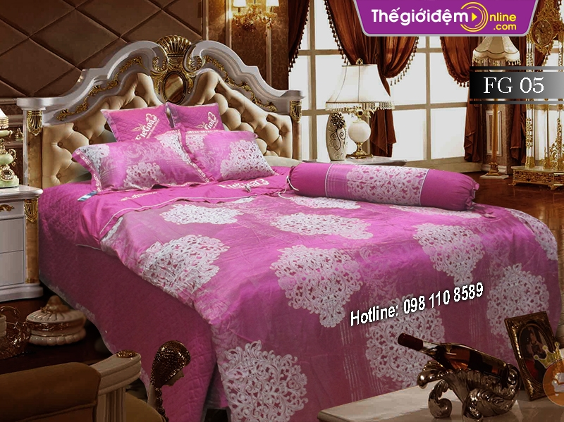 Bộ chăn ga gối Singapore Home Collection FG 05