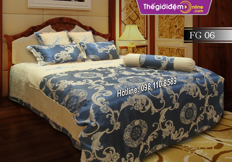 Bộ chăn ga gối Singapore Home Collection FG 06