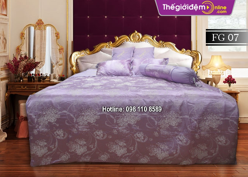 Bộ chăn ga gối Singapore Home Collection FG 07
