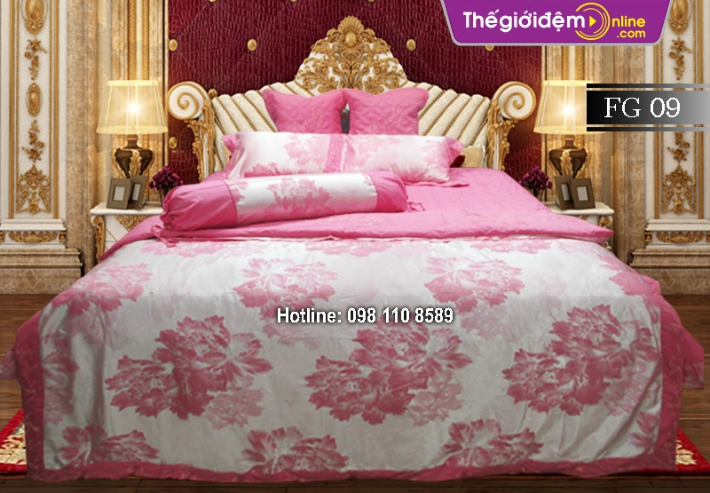 Bộ chăn ga gối Singapore Home Collection FG 09