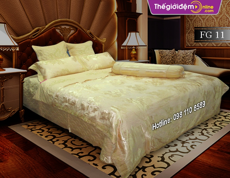 Bộ chăn ga gối Singapore Home Collection FG 11