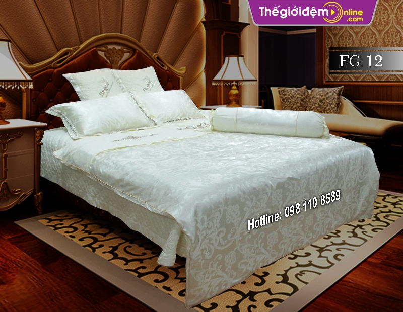 Bộ chăn ga gối Singapore Home Collection FG 12