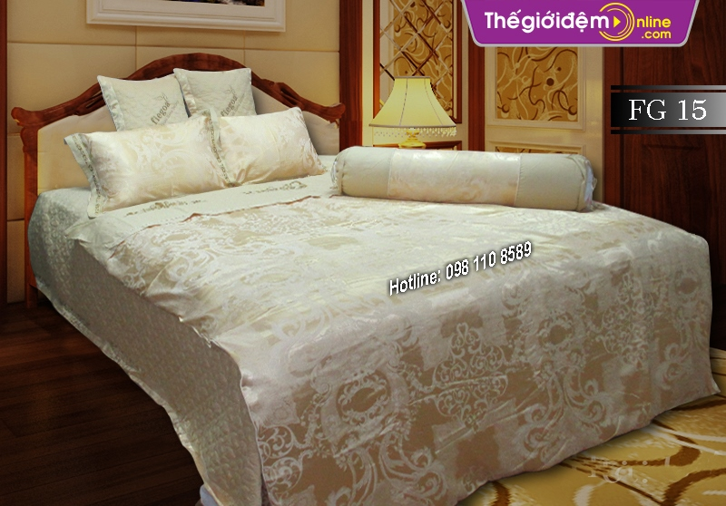 Bộ chăn ga gối Singapore Home Collection FG 15