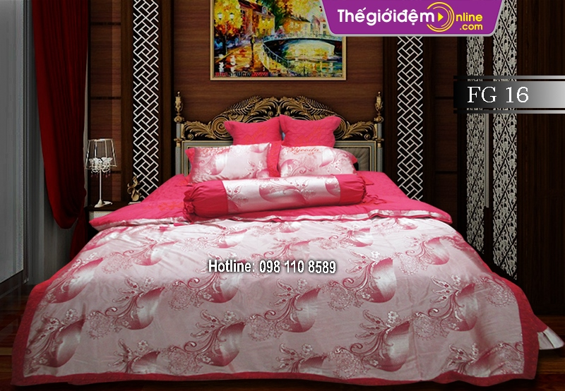 Bộ chăn ga gối Singapore Home Collection FG 16