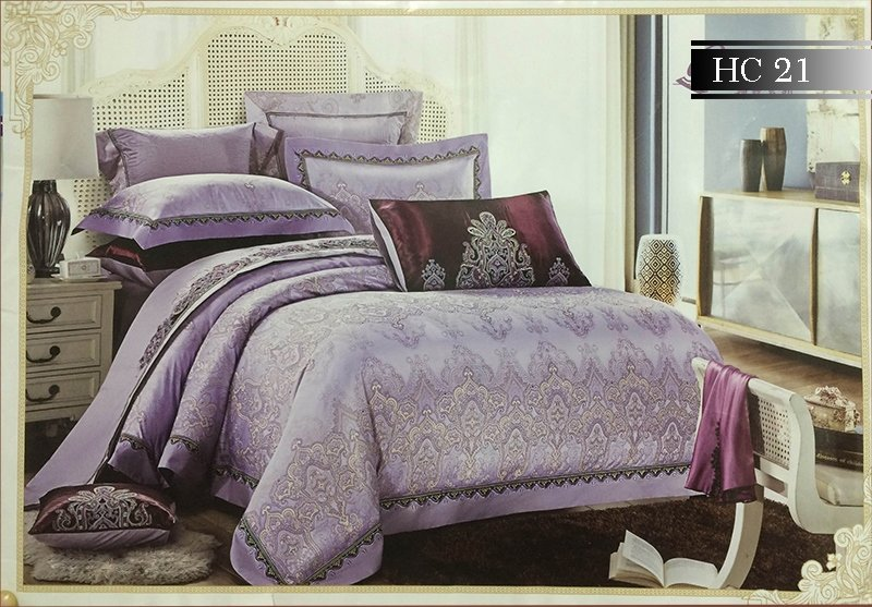 Bộ chăn ga gối Singapore Home Collection HC21