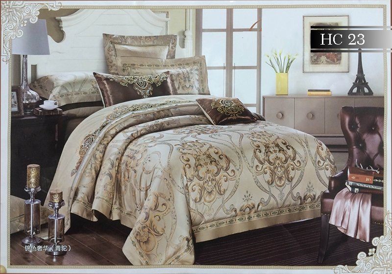 Bộ chăn ga gối Singapore Home Collection HC23